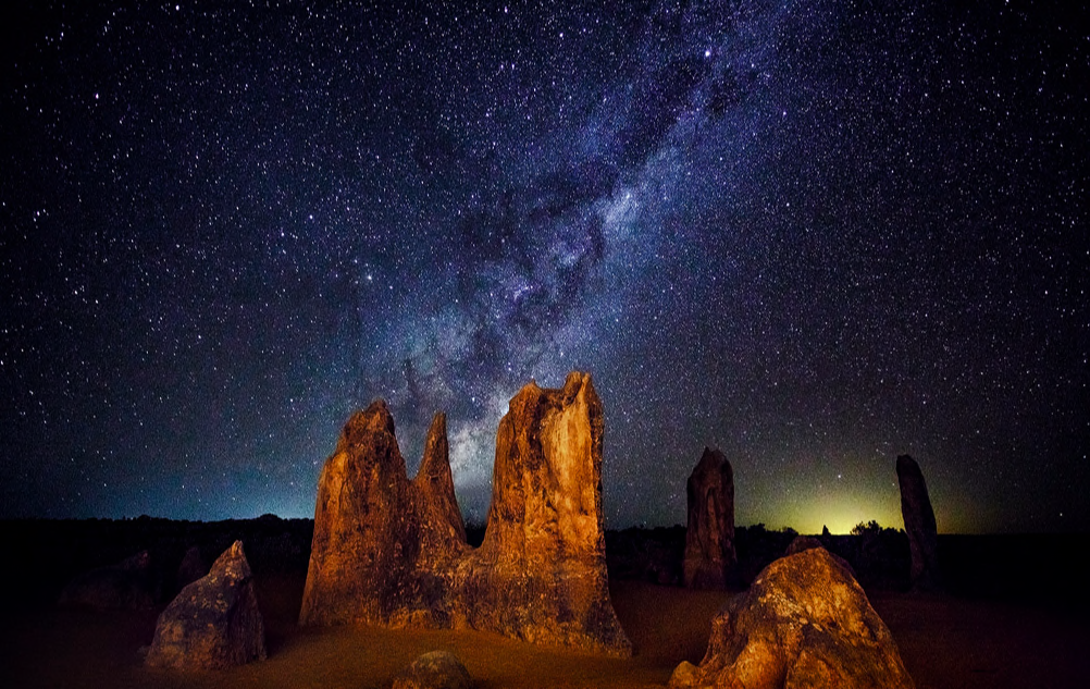 ピナクルズの夜景
