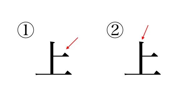 間違えやすい漢字の書き順
