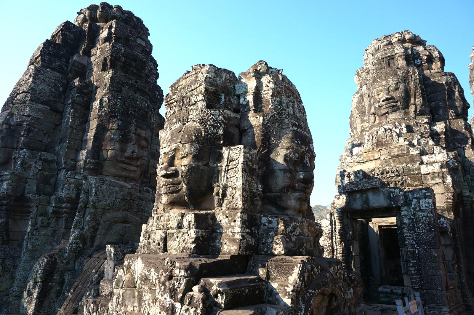 カンボジアのバイヨン