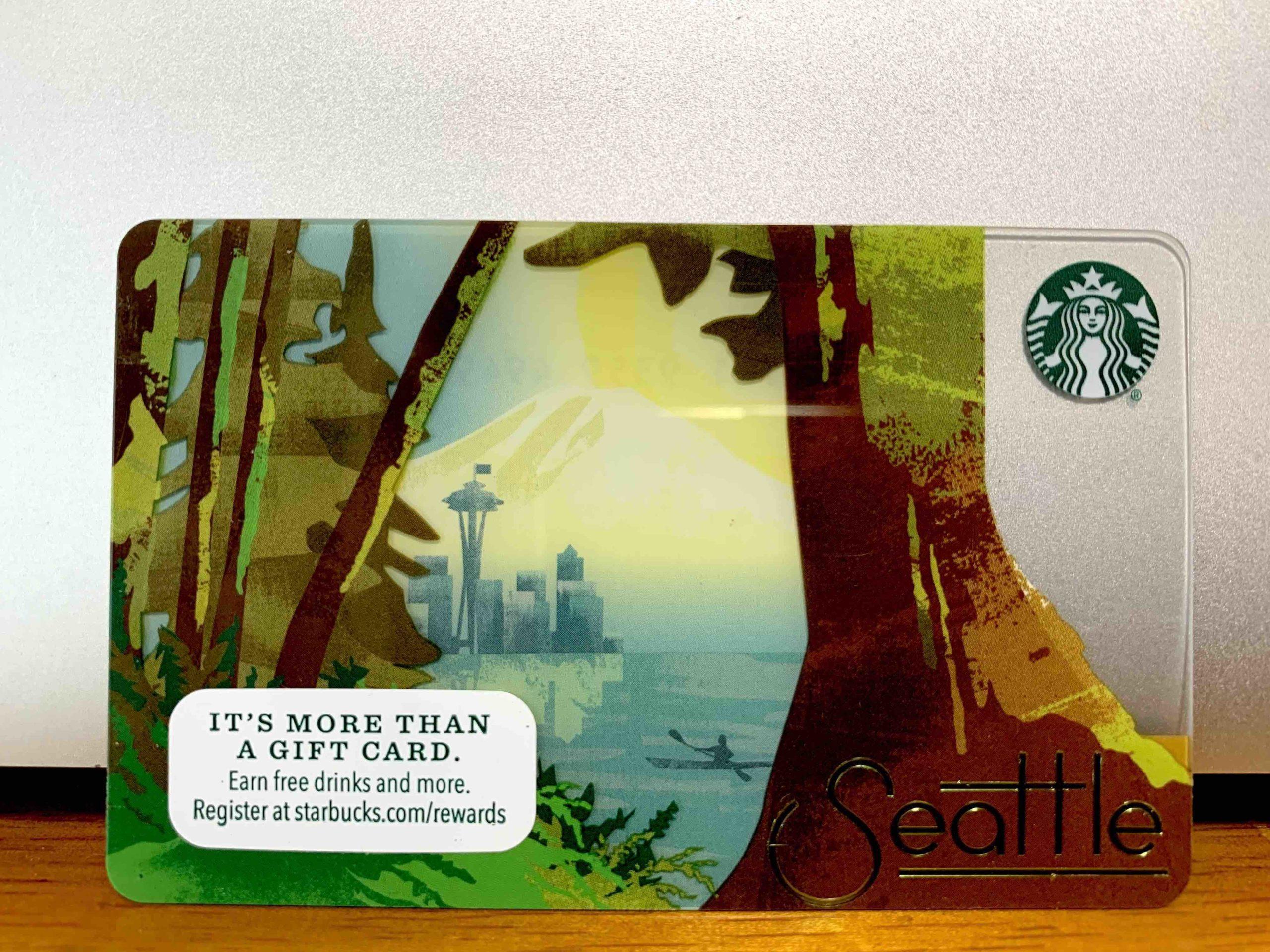 シアトルのスタバカード
