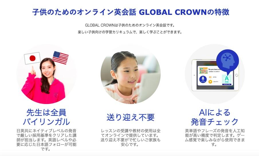おすすめオンライン英会話①:グローバルクラウン