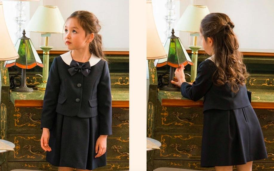 入学式の女の子の服装
